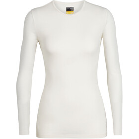 Icebreaker 175 Everyday Longsleeve Crew Top Dames, snow